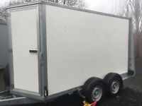 Ifor Williams BV105 G model 10 ft box trailer