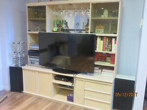 Meuble tv avec huche