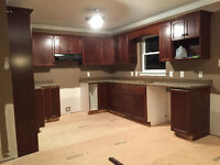 Complete Kitchen Cabinetry with Countertop