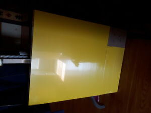 Yellow IKEA Lack Side Table- BNIP