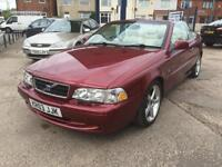 2003 Volvo C70 2.4 auto T GT 77,000 miles full history, new cambelt kit fitted!!