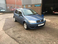 2004 Fiat Punto 1.2 8v Active 5 DOOR ONLY 81000 MILES WITH SERVICE HISTORY.