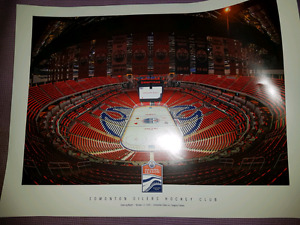 Rogers Place Inaugural Season Opening Night poster