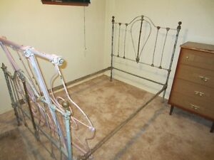 very old single bed frames