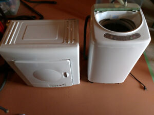 HAIER portable washer and dryer set -  like new