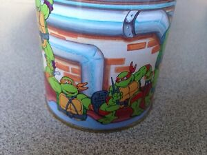 1990 mirage studios TMNT candy tin