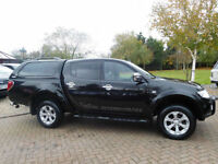 2010 Mitsubishi L200 2.5DI-D CR 4WD LB Double Pickup Barbarian No VAT PX Welcome