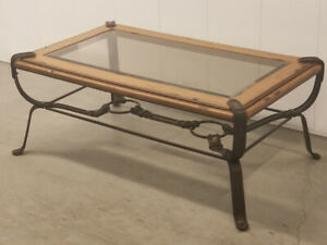 Enjoyable Glass And Wood Coffee Table Kijiji In Alberta Buy Sell Machost Co Dining Chair Design Ideas Machostcouk