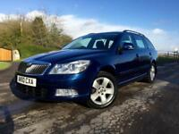 Skoda Octavia 1.6TDI CR Elegance 2010 Estate Blue Diesel Manual