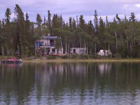 Waterfront cottage on Jackfish Bay available October 1st