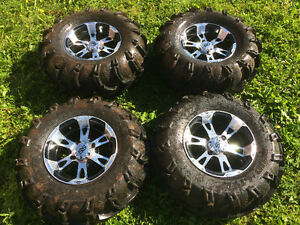 ITP ss wheels and mud lite tires (Yamaha grizzly)