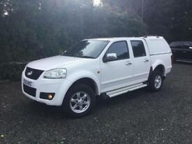 Great Wall Steed 2.0TD 4X4 S**FULL LEATHER**REAR CANOPY**TOW BAR**