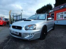2003 Subaru Impreza 2.0 WRX AWD Turbo 4dr Full service history,Loads of extra...