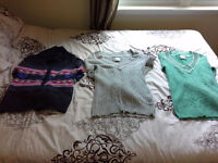 Women's Sweaters, Long-Sleeved Shirts, T-Shirts and Tank Tops