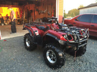 2006 grizzly 660 silver tip CLEAN