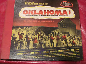 OKLAHOMA soundtrack on 78 rpm records