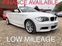 2011 BMW 1 Series 2.0 118d M Sport Convertible 2dr Diesel Manual (127 g/km,