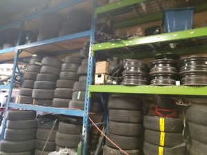 Many tires for sale