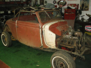1935 Ford Cabriolet Convertible project