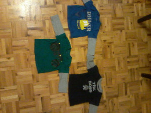 3 Toddler long sleeve shirts for all of them for bucks