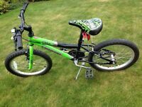 Boys mountain bike approx 18""