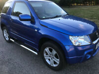 Suzuki Grand Vitara 1.6 VVT +2006/56 COBALT BLUE,2 TONE TRIM,88K PX BARGIN