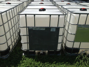 1000L IBC Steel Cage Plastic Tote - Hunting Camp / Cottage Use