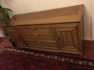 Tan Sideboard