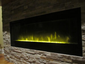 Top of the line  electric fireplace Dimplex 50 inches