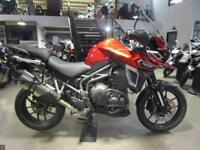 2017 TRIUMPH TIGER EXPLORER XRT RED 3399 MILES