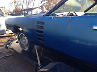 BARN FIND!!!! 1972 Dodge Charger Rallye - Two Cars!!