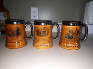 3 Rare Mint condition Lord Nelson Mugs