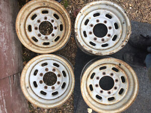 16 inch steel rims Prince George British Columbia image 1