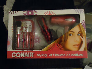 Conair Mini Straightener & Hair Dryer Set