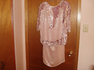 EVENING WEAR 2 PCS SEQUINED DRESS West Island Greater Montréal image 2