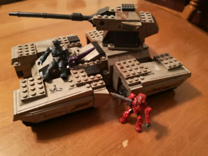 Halo Wars USNC Sorpion Mega Block. lego