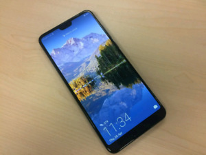 Huawei P20 128GB (Like New) + box and accessories