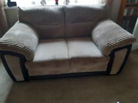 2 seater sofa + power recliner