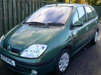Renault Scenic 1.6 16v auto 2002 Expression Long Mot / F/S/H Low miles