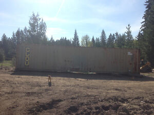 Shipping Container, Secure Storage