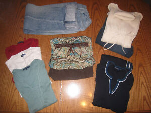 Maternity Clothes - Sizes range Small - Medium