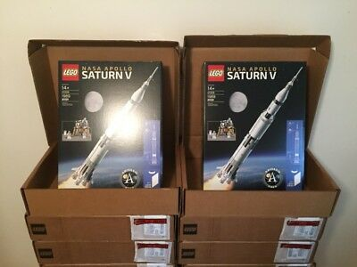 Lego Ideas Nasa Apollo Saturn V 21309   Fast Ship   Brand New