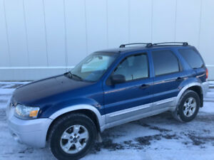 2007 FORD ESCAPE XLT...................780-235-6830