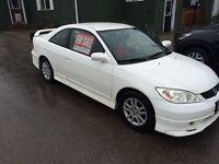 2005 civic reverb plus winter tires on rims