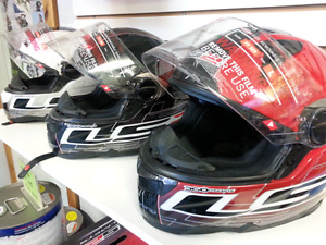 LS2 Motorcycle Helmets - brand new