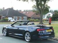 2018 Audi A5 CABRIOLET 2.0 TFSI S line Cabriolet S Tronic (s/s) 2dr Convertible