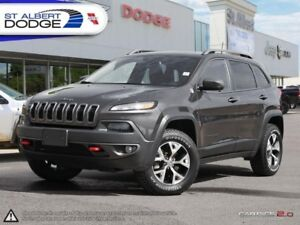 2016 Jeep Cherokee Trailhawk  HEATED LEATHER | UCONNECT | SUNROO