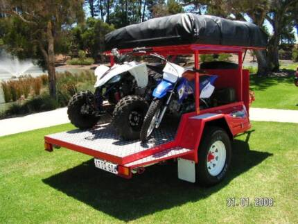 Custom Offroad Quad/bike family camper trailer Darling Downs Serpentine Area Preview