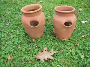 1 Terracotta strawberry/herb pot - one left from picture