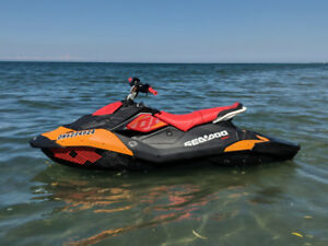 2018 Sea-doo Trixx 3up